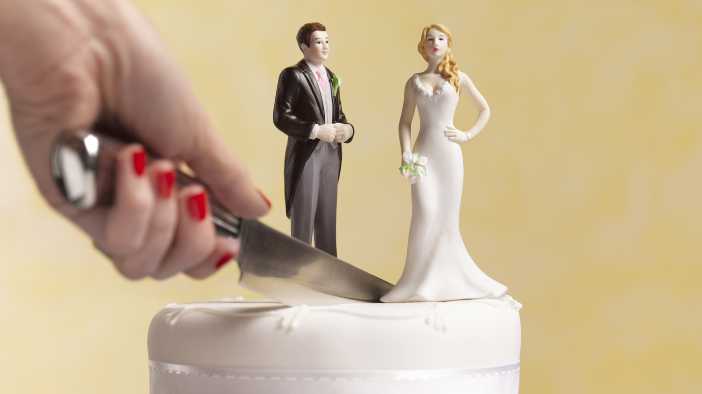 why does the couple cut wedding cake together when did marriage become so brain npr 27457