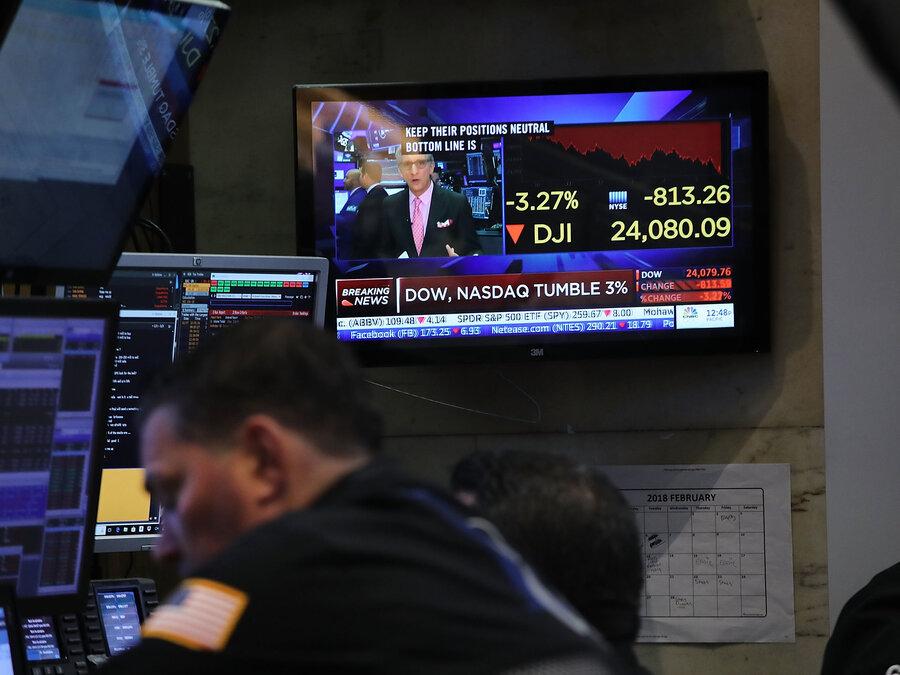 Stock Market Swings May Rock More Minds Than Wallets NPR