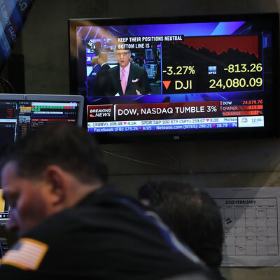 Stock Market Swings May Rock More Minds Than Wallets