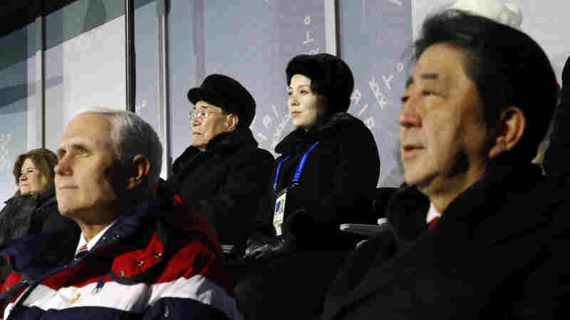 Amid Olympic Détente, Pence Snubs North Koreans In Visit To Pyeongchang