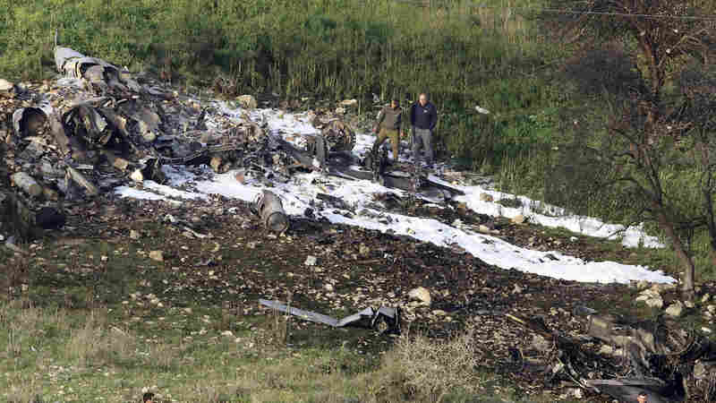 Israeli Airstrikes Kill 6 In Syria After Israel Says It Intercepted Iranian Drone