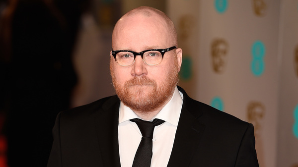 Jóhann Jóhannsson at the 2015 BAFTAs, where he was nominated for the music he composed for the film The Theory of Everything.