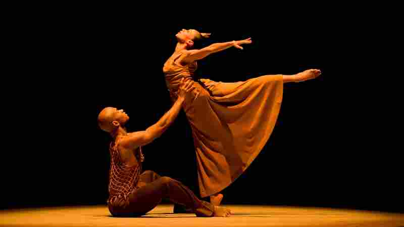 On Stage, In Marriage, These 2 Alvin Ailey Dancers Learned The Steps Together