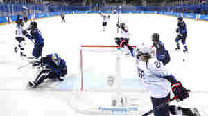 U.S. Women's Hockey Team Wins First Game In Winter Olympics