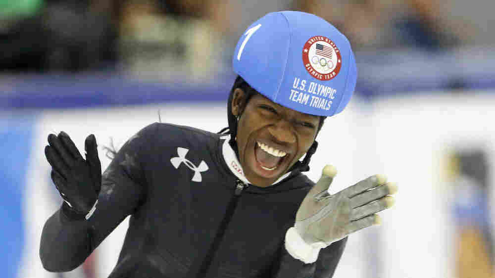 Maame Biney Came To The U.S. From Ghana At 5. Now 18, She's A Team USA Speedskater