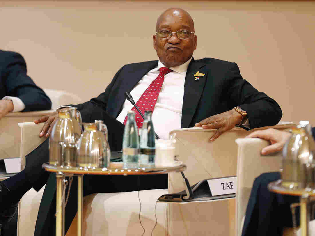 Zuma ordered to resign as South Africa's president
