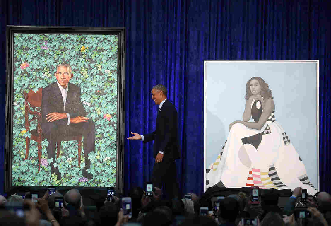 Obama portraits unveiled at the National Portrait Gallery