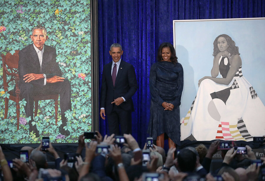 Image result for obama portrait national gallery