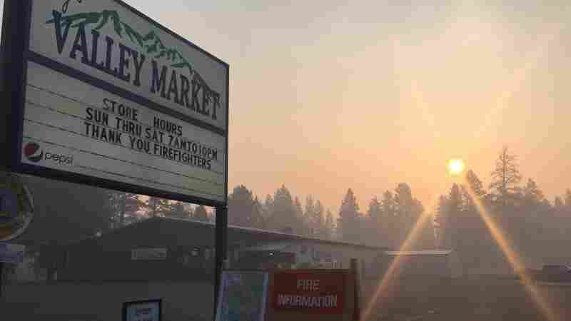Montana Wildfires Provide A Wealth Of Data On Health Effects Of Smoke Exposure