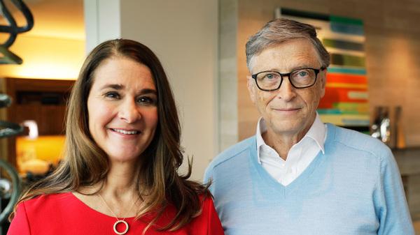 Melinda and Bill Gates in Kirkland, Washington, in February.