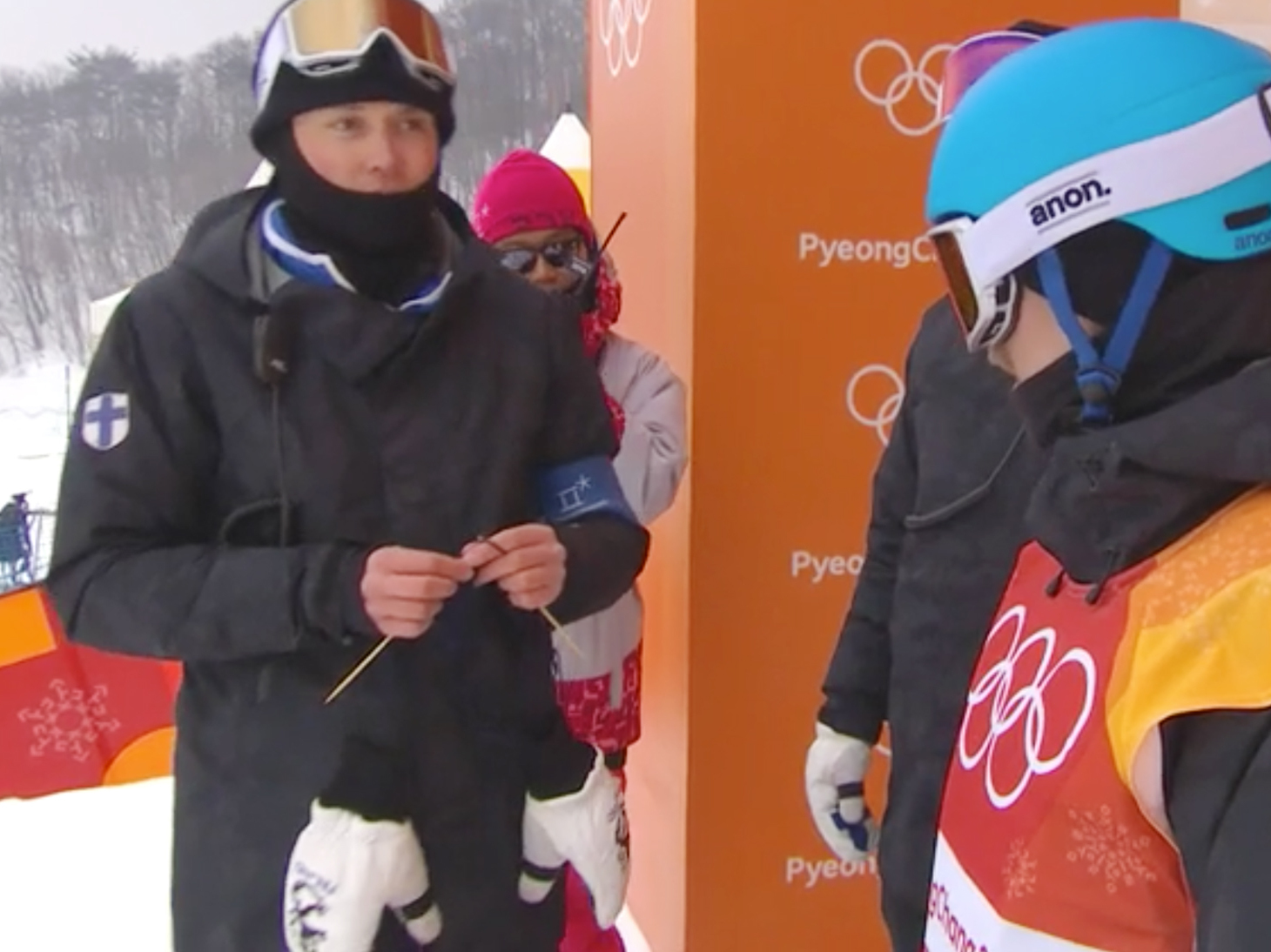 Knitting Olympics Coach : Finland takes olympic chill to the next level team