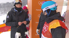Finnish snowboard coach Antti Koskinen, who knits during competition, has become an Olympic folk hero.