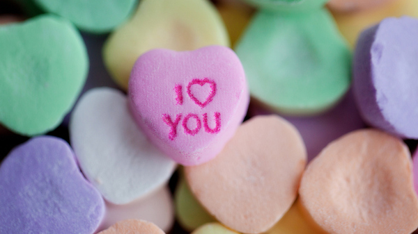"If ""I Love You"" candy hearts aren"