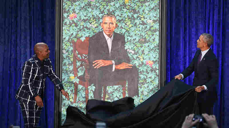 Behind The Obama Portraits: Artists Put Their Own Spin On A Presidential Tradition