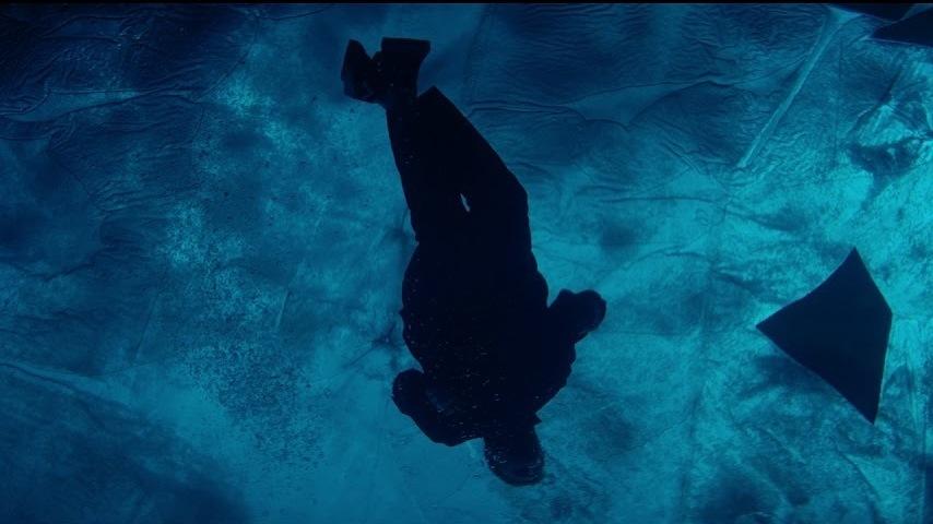 Tom Misch Floats Under A Frozen Lake In 'Water Baby' Video