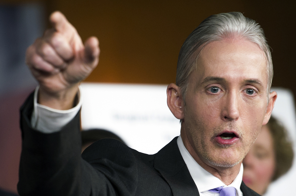 Rep. Trey Gowdy, R-S.C., penned a letter to the White House announcing the House Oversight and Government Reform Committee is opening an investigation into its timeline and handling of a scandal involving a top aide. (Cliff Owen/AP)