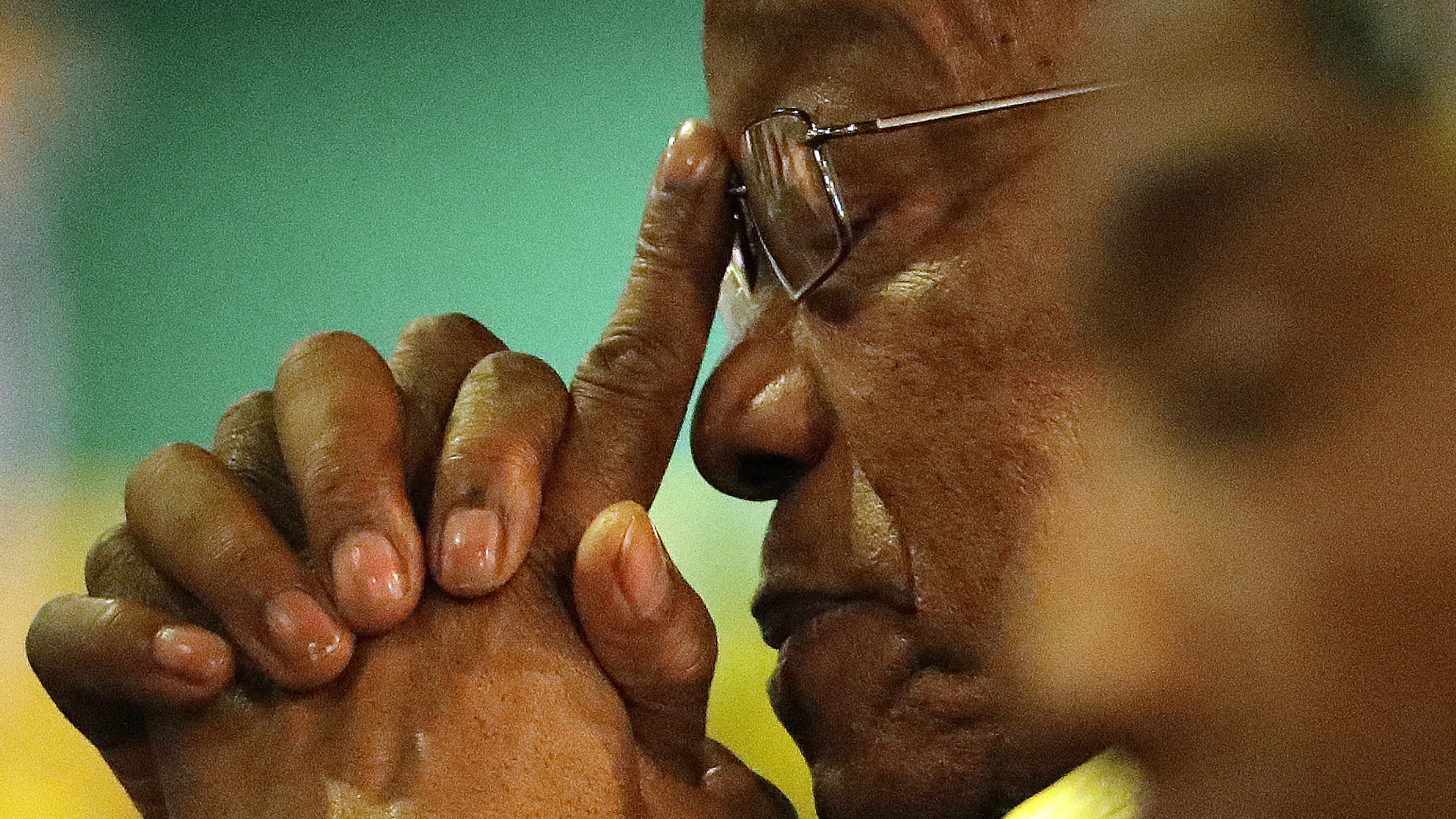 President Jacob Zuma at the African National Congress elective conference in Johannesburg in December