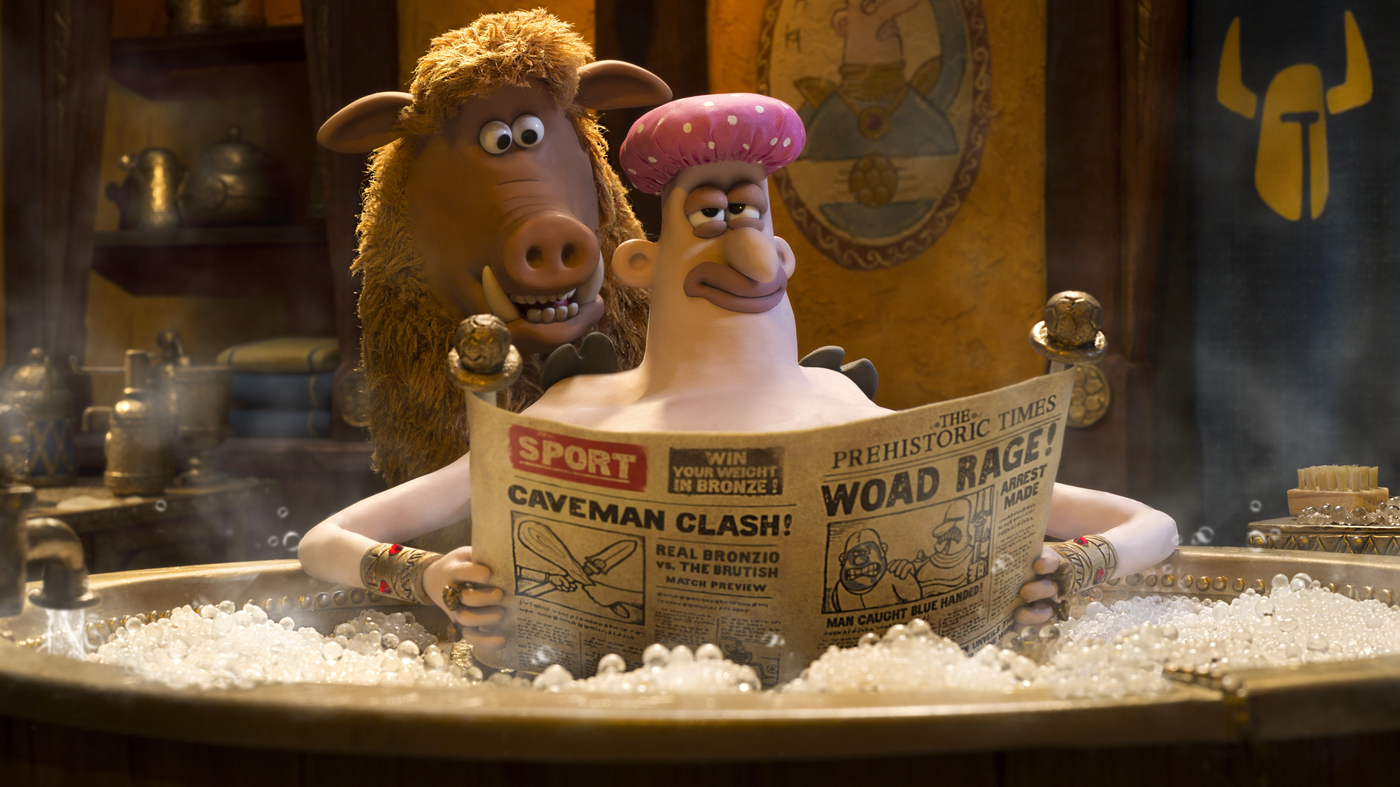 'Early Man' Is A Mammoth Delight
