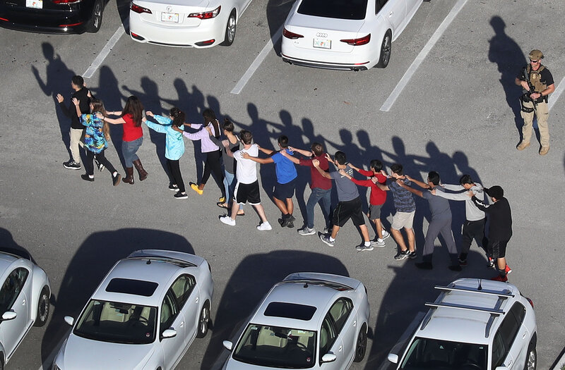 Florida School Shooting Leaves 17 People Dead, Sheriff Says : The