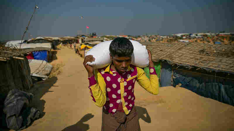 Kites, Prayers, A Snake Show: Reporting From The Rohingya Camps