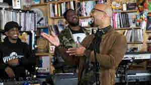 Common Welcomes Brandy, Andra Day To Special Tiny Desk Concert