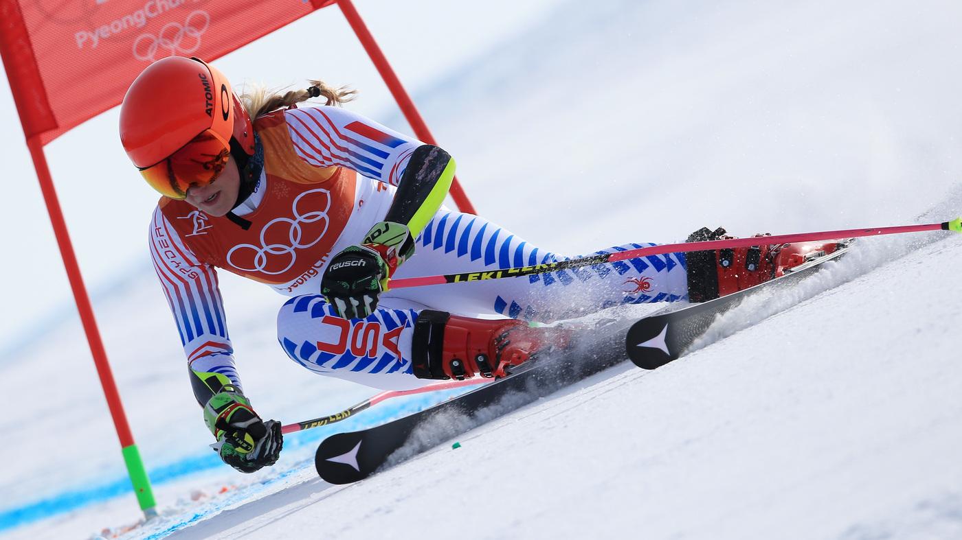 Mikaela Shiffrin Wins Gold Medal In Giant Slalom At Winter ...