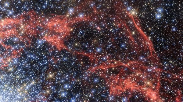 This image, taken with NASA