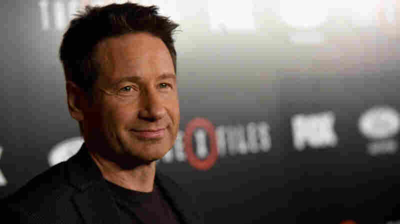 David Duchovny attends the premiere of Fox's The X-Files in 2016