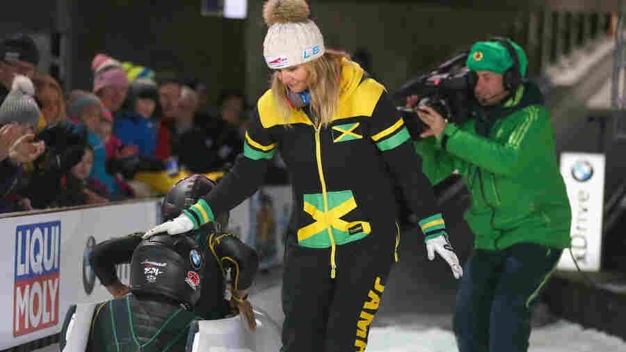 On Eve Of Olympics Debut, Jamaican Women's Bobsled Team Loses And Finds A Sled
