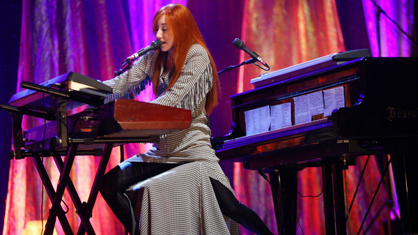 Tori Amos (shown here performing in 2009) was part of a wave of women musicians who took the reins, creatively and professionally, over their music in the