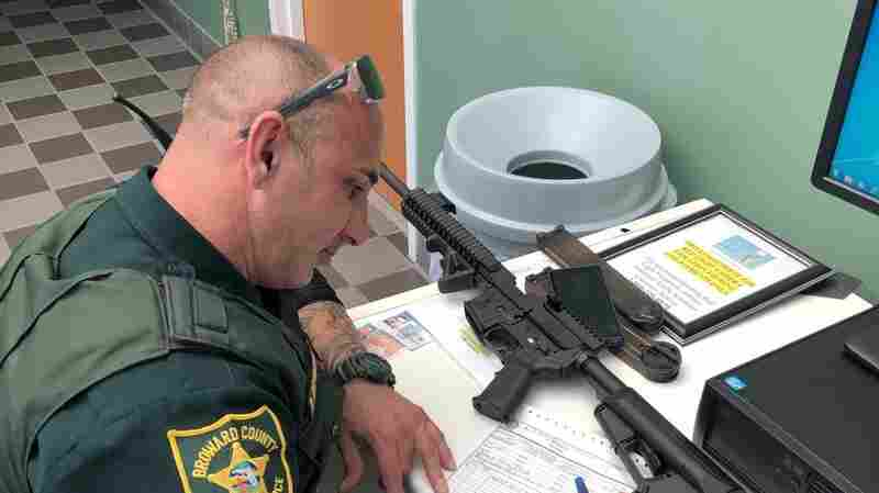 After Parkland Shooting, A Florida Gun Owner Gives Up His AR-57