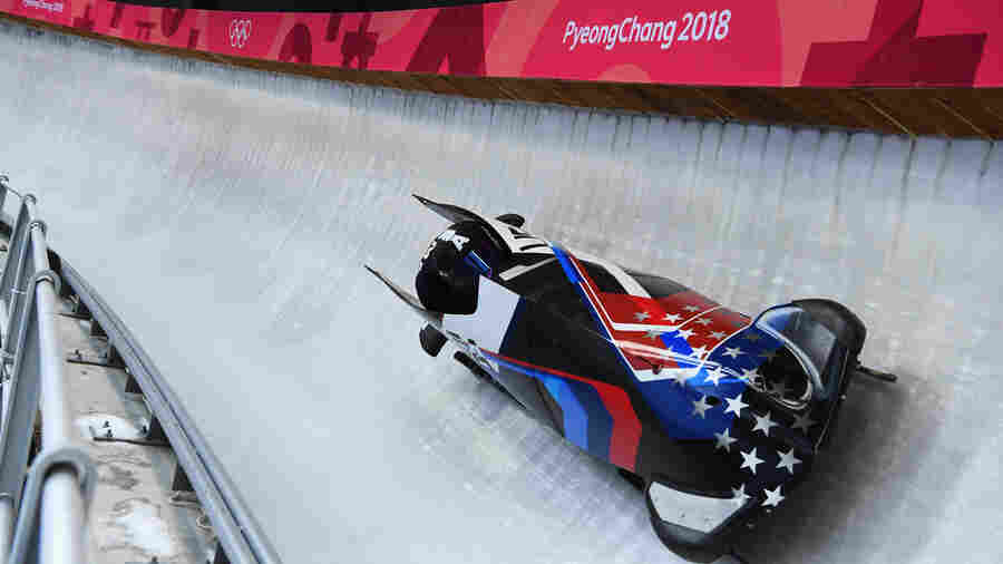 'More Than War Fighters': Active-Duty Athletes Compete In Olympics Bobsled And Luge