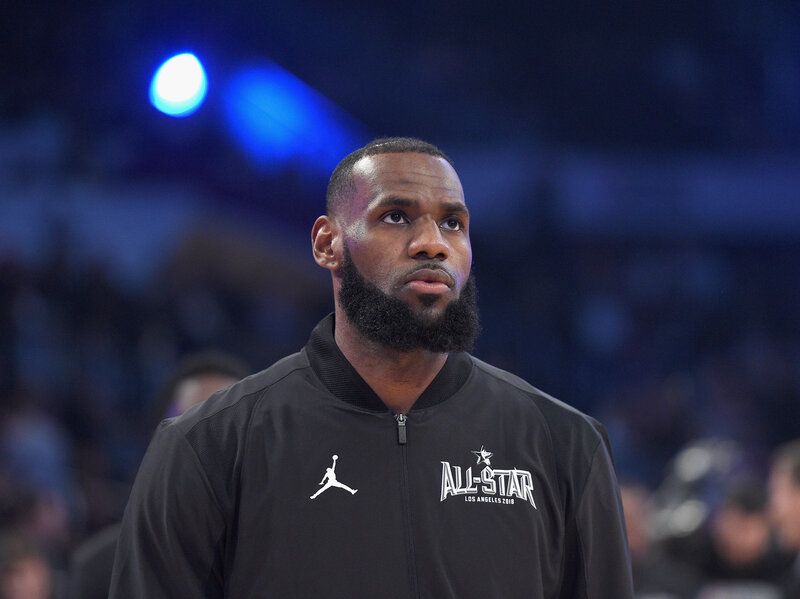 50014a75d40 Laura Ingraham Told LeBron James To Shut Up And Dribble  He Went To The Hoop