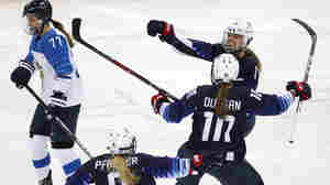 U.S. Women's Hockey Team Will Face Canada In Gold Medal Game At Winter Olympics