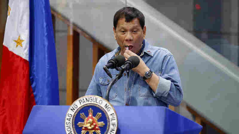 Philippines' Duterte Mocks Condom Use Amid Skyrocketing HIV Rates