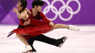 """It feels like gold. It's unbelievable,"" Alex Shibutani said, after he and his sister Maia won bronze in the ice dance free dance at the Pyeongchang 2018 Winter Olympic Games at Gangneung Ice Arena."
