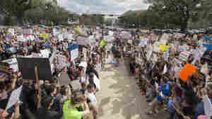 'We Will Not Give Up': Fla. School Shooting Survivors March For Tougher Gun Laws