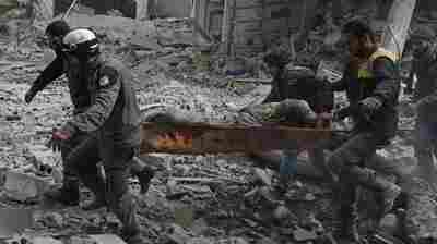 Syrian Barrage Buries Civilian Areas: 'What Have We Done To Deserve This?'
