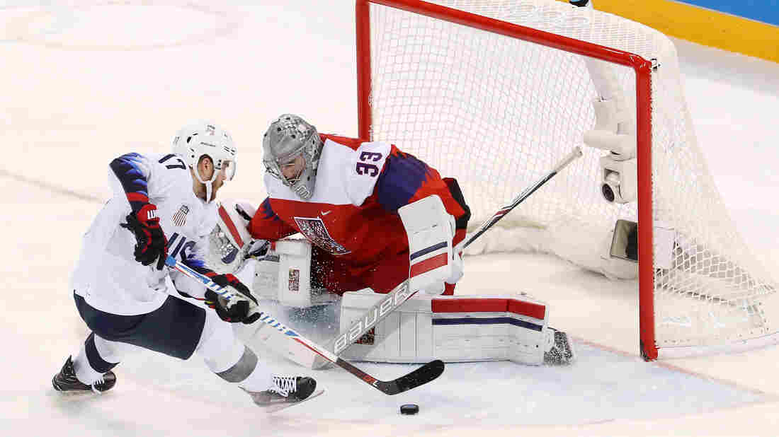 Olympics: Czechs eliminate U.S. in men's hockey