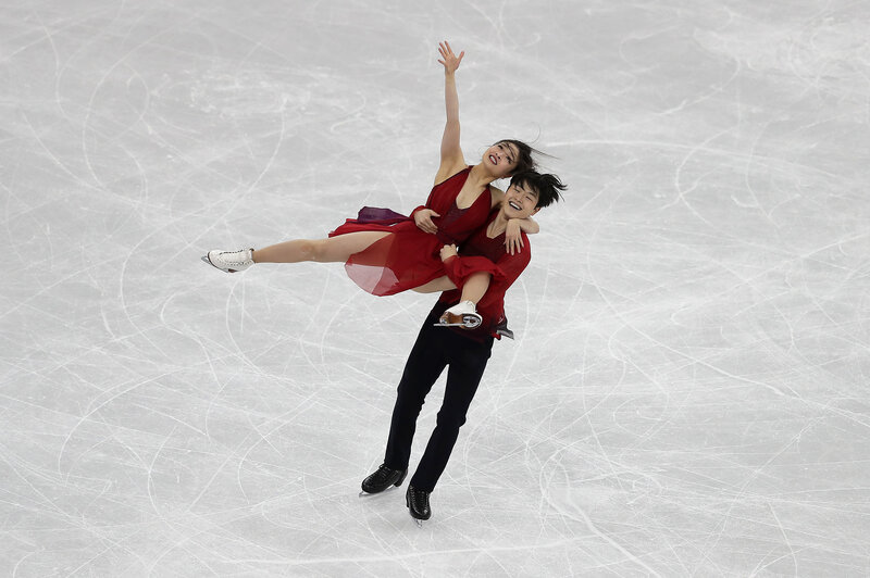 f3367dc3325d Siblings Maia and Alex Shibutani of the United States compete in figure  skating s ice dance free program on Feb. 20. The pair nabbed bronze.