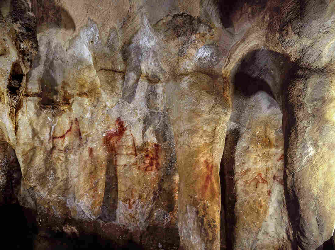 Neanderthals made first cave paintings 20000 years before modern humans