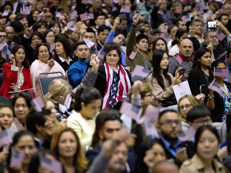 America No Longer A 'Nation Of Immigrants,' USCIS Says : The