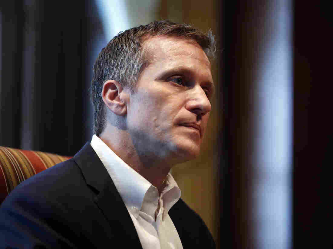 Indicted Missouri governor to skip DC meeting