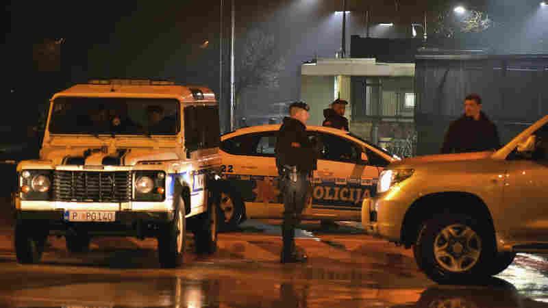 Hand Grenade Thrown At U.S. Embassy In Montenegro; Attacker Killed