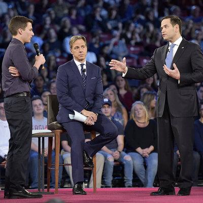 Florida Sen. Marco Rubio Softens On Gun Restrictions
