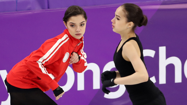 Women s Figure Skating Comes Down To A Duel, As Russians Eye First Gold Medal