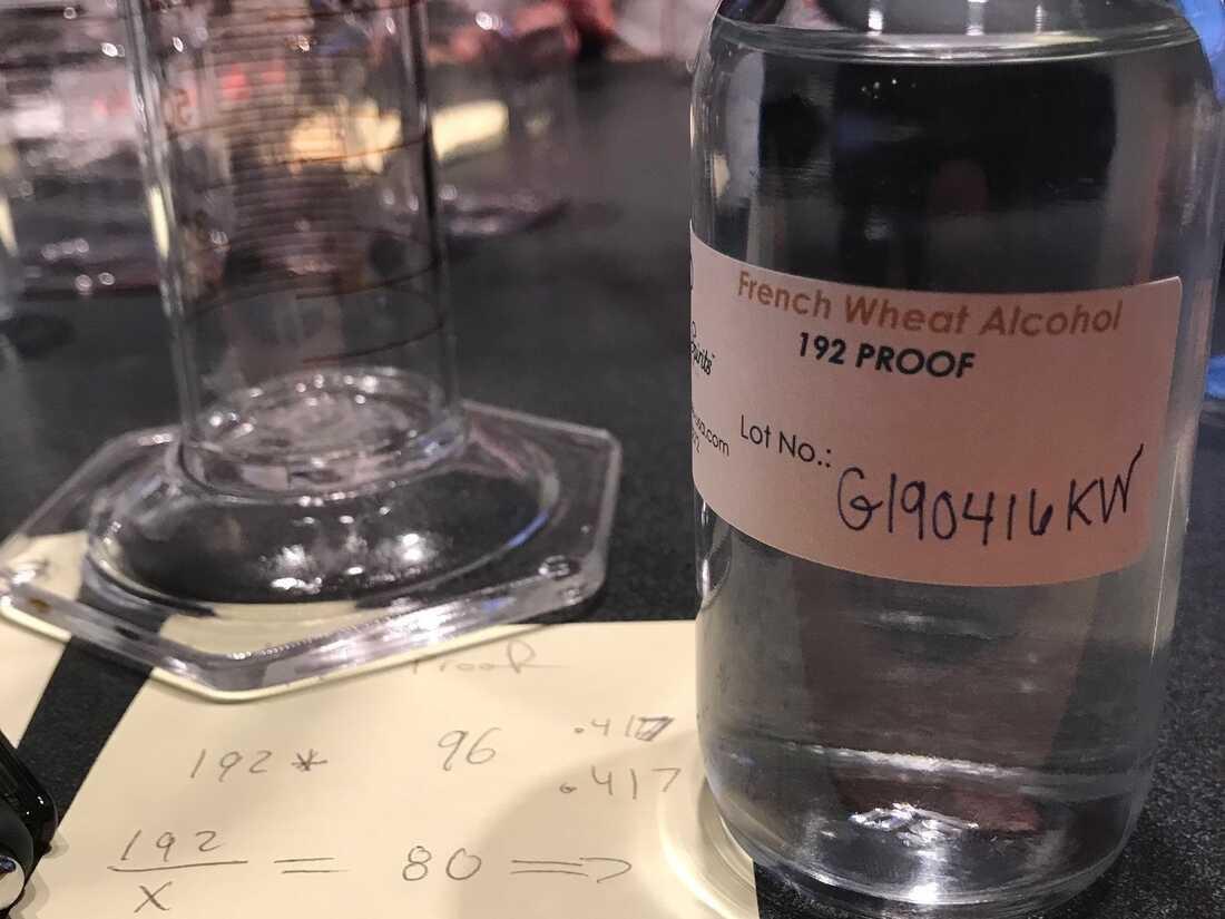 Planet Money tries to make vodka in a radio studio.