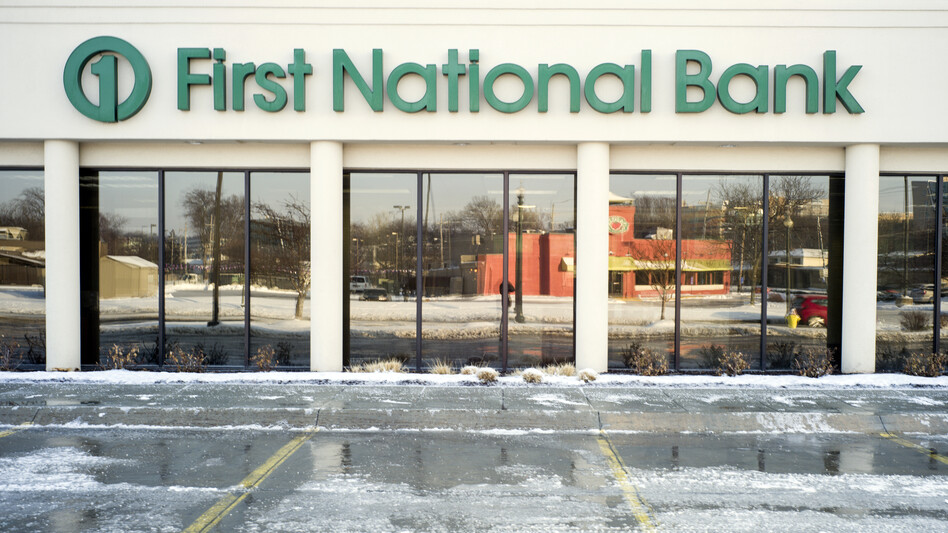 The First National Bank of Omaha is among several businesses that have renounced partnerships with the National Rifle Association in the aftermath of the Parkland, Fla., school shooting. (Nati Harnik/AP)