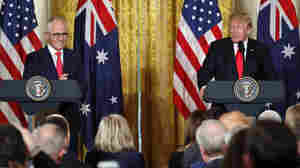 Trump Reiterates Position On Arming Teachers As Australian Leader Stays Out Of Debate