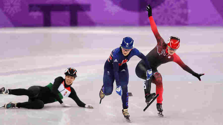 From 'Bonk' To 'Bombs' And 'Fly Swat': A Guide To Olympic Slang